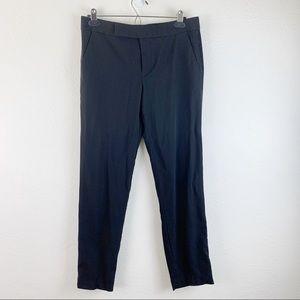 Polo Ralph Lauren Black Tuxedo Wool Work Pants 6